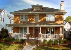 Arts And Craft House Porch Ayanahouse Craftsman Porch Craftsman Style Bungalow House Styles