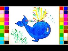 Whale, : Sperm Whale Coloring Page   Coloring for Kids   Pinterest ...