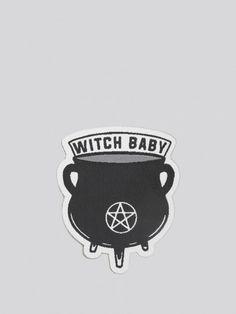 Witch Baby Patch - Gypsy Warrior