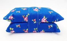 Blue Flower Nappy And Wipes Holder - The Supermums Craft Fair