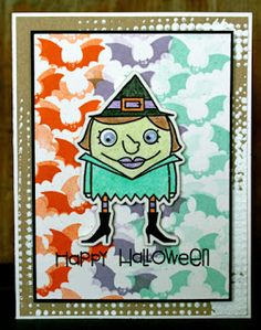 Card by SPARKS DT Larissa Heskett PS stamp sets: Spookalicious and Halloweenies; PS dies: Halloweenies