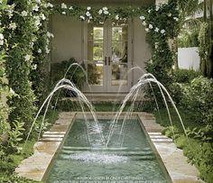 Elegant pool.