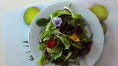 Flower-salad #viole
