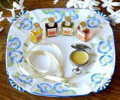 DIY solid perfume.