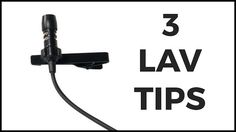 3 Tips To Mount Your Lavalier Microphone    To get great sound on location the lavalier microphone is the go-to microphone of choice by most documentary filmmakers. It's on the person all the time and is able to get great sound if mounted properly.  I've seen far too people mound a big mic on the outside of someone's shirt. - said Rob Nelson - They don't try to hide it at all. Sometimes that's called for but it's also good to know that it's fairly easy to hide.  In this short Rob asked…