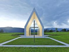 the Church remains in the village seashore chapel verctor architects2