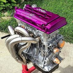 Honda engine Honda Crx, Honda Civic, Tuner Cars, Jdm Cars, Civic Eg, Honda Motors, Honda Prelude, Race Engines, Motor Engine