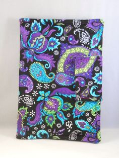 iPad Mini Case Kindle Fire Case Purple Blue and от foreverandrea