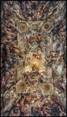 Art wallpaper what a hell Renaissance Kunst, Renaissance Paintings, Aesthetic Painting, Aesthetic Art, Aesthetic Vintage, Rennaissance Art, Art Et Architecture, Baroque Art, Ceiling Art