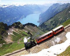 Papel de Parede - Trem - Suiça