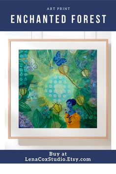 The fairy wall art is created in the magical realism style. The fine art print features a forest spirit, a faerie, in an enchanted forest with flowers and butterflies. The woodland print makes a great gift for her or a housewarming gift. Canvas Wall Art, Wall Art Prints, Fine Art Prints, Woodland Art, Cool Wall Art, Realism Art, Watercolor Print, Condo Living, Living Room