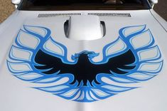 Just A Car Guy : the screaming eagle, flaming chicken... the Trans Am hood bird (PS, I never claimed to have everything you ever wanted to know, stupid ass Scott Aho of Minneapolis, screw you)