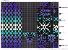Очень красивые жаккардовые варежки. Обсуждение на LiveInternet - Российский Сервис Онлайн-Дневников Crochet Mittens Free Pattern, Crochet Gloves, Knit Mittens, Knitting Socks, Knitting Charts, Knitting Stitches, Knitting Patterns, Capes For Kids, Fair Isle Knitting
