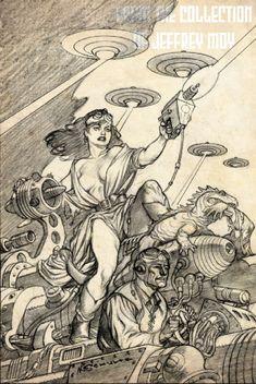 Mark Schultz prelim 02 Comic Art