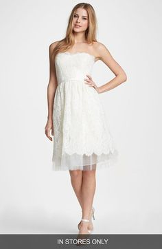 Jenny Yoo Libby Lace Fit Flare Dress In S Only Nordstrom