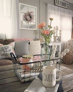Nice 40 Awesome Rustic Farmhouse Home Decor Ideas