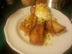 Chicken & Cheese Flautas