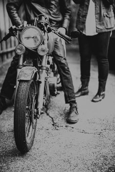 Classic motorcycle!