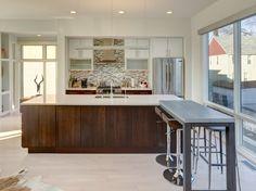 kitchen design . open concept . modern interiors . brickhaus