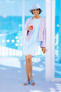 Spring Jacket free crochet pattern