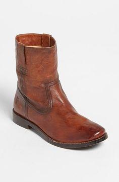 Frye 'Anna - Shortie' Leather Boot (Women) | Nordstrom @nordstrom #Fryeboot #Anna