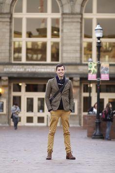 Broadway & Pine Matthew and his partner own Eat Loca l. Capitol Hill, Men's Style, Seattle, Menswear, Street Style, Mens Fashion, Ideas, Male Style, Moda Masculina