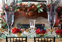 Christmas Tablescape #CatalogsBigRedBow
