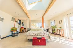 Spacious and bright living space