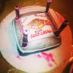 WWE DIVA CAKE TanniCakes Pinterest Diva cakes Cake and