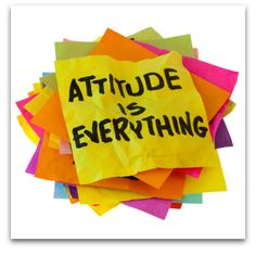 attitude is everything. often determines who leaves #therapy quicker and happier :)