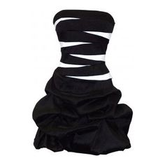 Black and white party dress?