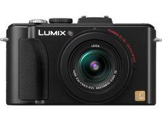 Panasonic DMC-LX7K - LUMIX DMC-LX7 10.1 MP 3.8X Advanced Zoom Digital Camera - Black.