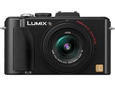 Panasonic DMC-LX7K - LUMIX DMC-LX7 10.1 MP 3.8X Advanced Zoom Digital Camera - Black.
