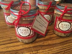 Edible Cookie Dough in a Mason Jar by MamaTraysBakeShop on Etsy