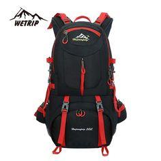 3e895323800aa 50L Outdoor Bag Men Camping Bag Waterproof women Hiking Backpack Travel  equipment Sport Bag Climbing Rucksack Big Load mochila-in Climbing Bags  from Sports ...