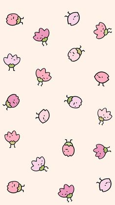 Картинка с тегом «art, cute illustration, and strawberry»
