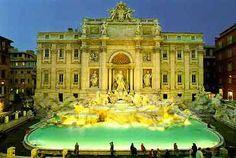 Trevi Fontein, Rome.  (http://fonteinenbernini.webnode.nl/fontana-di-trevi/)