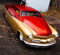 51 Mercury Custom Rat Rods, 49 Mercury, Vintage Cars, Antique Cars, Chevy Ssr, Cafe Concept, Lead Sled, Car Colors, Fancy Cars