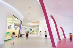 SAKO architects shapes playful educational center in beijing