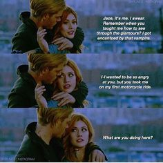 "#Shadowhunters 2x02 ""A Door Into the Dark"" - Clary and Jace"