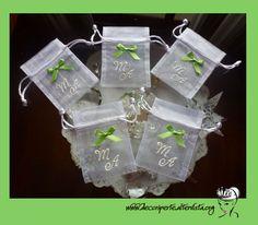 Personalized Wedding Organza Bags