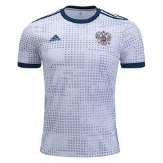 bdc6aee6ec538 adidas Russia Away Jersey 2018-m World Soccer Shop, Blue Adidas, Soccer  Cleats