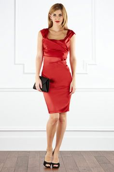 Alva #Duchess Satin #Dress £150