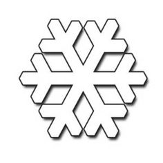 winter coloring pages snowflakes clip art black and white winter rh pinterest com white snowflake clipart no background white snowflake clipart free