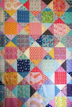 Anna Maria Horner's Dowry quilt. I'm pretty sure this will be my next queen size quilt!!