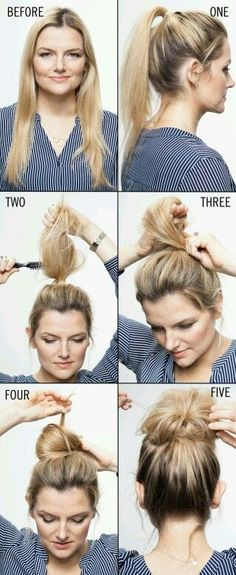 Comment faire un chinion style