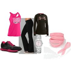 workout gear, created by rachel-prillaman-pilson on Polyvore