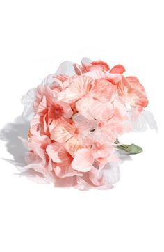Faux hydrangea corsage from Nordstrom, $22.00.  How adorable for a flower girl if I go with the yellow accented dress!