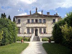 Andrea Palladio's villa #architecture #classic #architect #andreapalladio #italiandesign #villa #house #vicenza #Italy