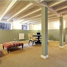 Image Result For Unfinished Basement Wall Ideas Basement